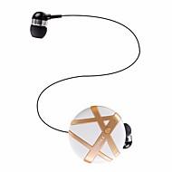 Fineblue FL-C8 イヤバッド(イン・イヤ式)Forメディアプレーヤー/タブレット 携帯電話 コンピュータWithマイク付き DJ ボリュームコントロール ゲーム スポーツ ノイズキャンセ Hi-Fi 監視 Bluetooth