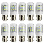 4W B22 LED Λάμπες Καλαμπόκι T 27 SMD 5730 280 lm Θερμό Λευκό Ψυχρό Λευκό Διακοσμητικό AC 85-265 V 10 τμχ