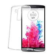 Varten LG kotelo Läpinäkyvä Etui Takakuori Etui Yksivärinen Pehmeä TPU LG LG G5 / LG G4 / LG G3 / LG G18