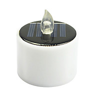 MLSLED 0.5W 2V IP66 Warm White Light Solar-Power Crystal Candle Lights Diamond Scenery Lights for Holiday Garden Decorative Lights with Light Control