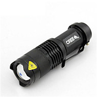 SupFire LED Lommelygter LED 800 Lumens Modus Cree Q5 Lithium Batteri Kompaktstørrelse Enkel å bæreCamping/Vandring/Grotte Udforskning