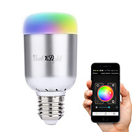 YouOKLight E27 6W 16-LED Wireless Bluetooth Control Smart LED Bulb AC100-240V