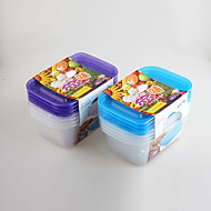 4 Küche Plastik Brotdosen