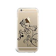 のために パターン ケース バックカバー ケース フラワー ソフト TPU のために Apple iPhone 7プラス iPhone 7 iPhone 6s Plus/6 Plus iPhone 6s/6 iPhone SE/5s/5