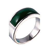 Vallomás gyűrűk Gyűrű Opál Titanium Acél Opál Divat Arany Ezüst Ékszerek Napi Hétköznapi 1db
