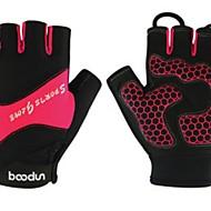 BODUN /SIDEBIKE® スポーツグローブ フリーサイズ サイクルグローブ 春 夏 サイクルグローブ 高通気性 耐摩耗性 耐久性 保護 フィンガーレス ライクラ サイクルグローブ グリーン ブルー サイクリング