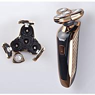 Elektromos borotva Arc Elektromos Csuklós fej Kenőanyag-adagoló Száraz borotválkozás Rozsdamentes acél