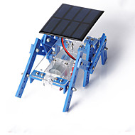 Crab Kingdom of Solar Panels Hexapod Robot Model Assembled DIY Handmade Material Package