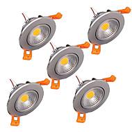 5W Deckenleuchten 1 Hochleistungs - LED 300-330 lm Warmes Weiß Kühles Weiß Dimmbar Dekorativ V 1 Stück