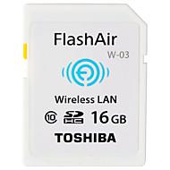 Toshiba 16GB Wifi SD-kort minnekort Class10 Flash air