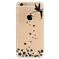 Varten Ultraohut Kuvio Etui Takakuori Etui Seksikäs nainen Pehmeä TPU varten AppleiPhone 7 Plus iPhone 7 iPhone 6s Plus/6 Plus iPhone
