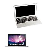 υπέρλεπτων ασήμι φύλακας παλάμη και HD οθόνη προστάτης με το πακέτο για MacBook Pro 13.3 ιντσών