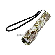 U'King ZQ-X1061DC CREE XML T6 2000LM Camouflage 5Mode SOS Zoomable Flashlight Torch