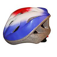スポーツ 女性用 男性用 男女兼用 バイク ヘルメット 17 通気孔 サイクリング サイクリング マウンテンサイクリング ロードバイク レクリエーションサイクリング ハイキング 登山 PC EPS ブルー