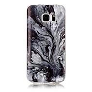 Για IMD Με σχέδια tok Πίσω Κάλυμμα tok Μάρμαρο Μαλακή TPU για Samsung S7 edge S7 S6 edge S6 S5 S4 S3