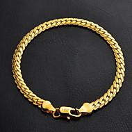 Damen Ketten- & Glieder-Armbänder Armband Modisch Platiert vergoldet Kreisform Silber Golden Schmuck FürHochzeit Party Besondere Anlässe