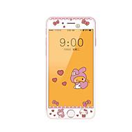 para Apple iPhone 7 mais protetor de tela de vidro temperado de 5,5 polegadas com borda suave cobertura de tela cheia padrão de tela