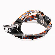 U'King® ZQ-X827B Three Head CREE 1*T6/2*XPE 5000LM Zoomable Multifunction 4Modes Headlamp Bicycle Light