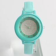 Modieus horloge Kwarts / PU Band Vrijetijdsschoenen Blauw Lichtblauw