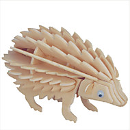 Jigsaw Puzzles Category Building Blocks DIY Hedgehog Toys Shape Pieces Material Color Type