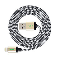 CARVE 4ft(1.2M) MFI Certified Lightning to USB Sync and Charge Cable for Apple iPhone 7 6s Plus/ iPad