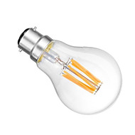 1個 ONDENN B22 6 COB 600 LM 温白色 A60(A19) edison ビンテージ LEDボール型電球 交流220から240 / AC 110-130 V