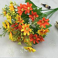34.5cm lengte van hoge kwaliteit en heldere kleuren 28 stuks per bos kleine daisy kunstbloem