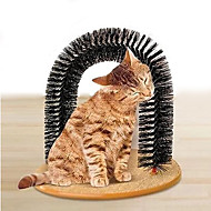Juguete para Gato Juguetes para Mascotas Interactivo Almohadilla para Arañar Felpa
