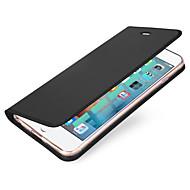 Kompatibilitás iPhone X iPhone 8 tokok Kártyatartó Flip Mágneses Teljes védelem Case Tömör szín Kemény Műbőr Bőr mert Apple iPhone X