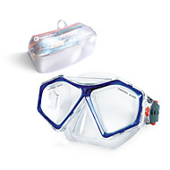 Swimming Goggles NO TOOLS Required Diving / Snorkeling Swimming PVC Red Blue