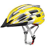スポーツ 男女兼用 バイク ヘルメット 24 通気孔 サイクリング サイクリング マウンテンサイクリング ロードバイク レクリエーションサイクリング ハイキング 登山 PC EPS イエロー レッド ブルー パープル
