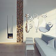 Spiegels Vormen Abstract Muurstickers Kristallen Muurstickers Spiegel muurstickers Decoratieve Muurstickers,Vinyl Materiaal Huisdecoratie