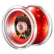 Professional Yoyo Leisure Hobby Sphere Metal ABS Gifts Red