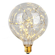 3W E26/E27 LED Filament Bulbs G95 47 Integrate LED 300 lm Warm White Decorative AC 220-240 V 1 pcs