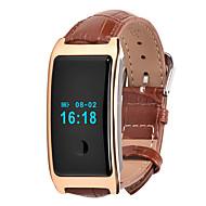 HFQ Bluetooth Slimme armbandWaterbestendig Lange stand-by Stappentellers Sportief Hartslagmeter Touch Screen Wekker Multifunctioneel
