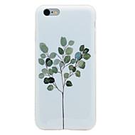 Mert IMD Minta Case Hátlap Case Fa Puha TPU mert AppleiPhone 7 Plus iPhone 7 iPhone 6s Plus iPhone 6 Plus iPhone 6s iPhone 6 iPhone SE/5s