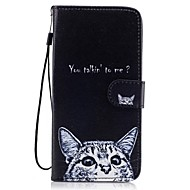 For Samsung Galaxy  S8 Plus S8 Card Holder Wallet with Stand Flip Pattern Case Full Body Case Cat Hard PU Leather S7 edge S7 S6 S5