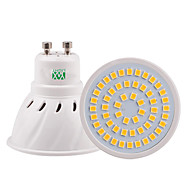 5W GU10 GU5,3(MR16) E26/E27 LED-kohdevalaisimet 54 SMD 2835 400-500 lm Lämmin valkoinen Kylmä valkoinen Neutraali valkoinen Koristeltu V1