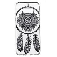 For Transparent Mønster Etui Bagcover Etui Drømmefanger Blødt TPU for Samsung S8 S8 Plus S7 edge S7 S6 edge plus S6 edge S6 S4 Mini S4