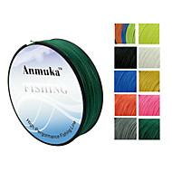 100M Anmnka Brand  Super Strong Japan Multifilament PE Braided Fishing Line 8 ~ 80LB