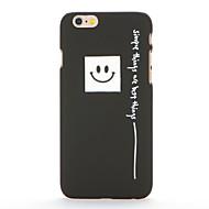 Varten Himmeä Kuvio Etui Takakuori Etui Sana / lause Kova PC varten AppleiPhone 7 Plus iPhone 7 iPhone 6s Plus iPhone 6 Plus iPhone 6s