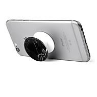 Fixation Support pour Téléphone Bureau Rotation 360° Support Ajustable Polycarbonate for Téléphone portable
