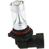 sencart 2pcs 9005 hb3 p20d 8x3535smd led白/赤/黄色ヘッドライトロービーム電球ac / dc 9-30v