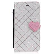 Dla jabłko iphone 7 plus 7 pu materiał skórzany miłość szwy kolor telefonu przypadku 6s plus 6 plus 6s 6
