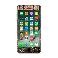 1 db Karcolásvédő Rajzfilmfigura Átlátszó szintetikus Matrica Sötétben világító Minta MertiPhone 7 Plus iPhone 7 iPhone 6s Plus/6 Plus