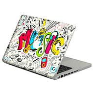 For MacBook Air 11 13/Pro13 15/Pro with Retina13 15/MacBook12 Graffiti in English Decorative Skin Sticker