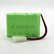 Ni-MH-batterier aa 1800mAh 6v