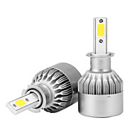 2pcs h3 36w 3600lm led koplamp kit bundelbollen 6000k vervang halogeen xenon