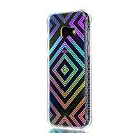 Samsung Galaxy a3 (2017) a5 (2017) burkolata ütésálló borítás áttetsző mintát hátlapot geometrikus minta puha TPU