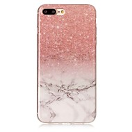 Voor iphone 7 7 plus case cover imd back cover case marmer soft tpu voor iphone 6 6 plus 5c 5 5s 4s